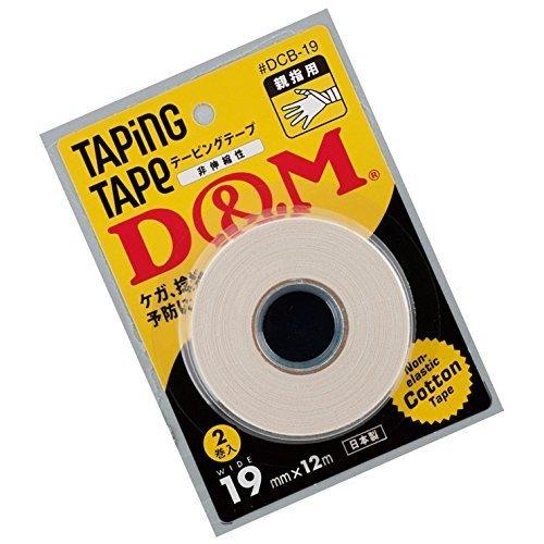 テーピングテープ D&M 19mm×12M 2個入り 親指用
