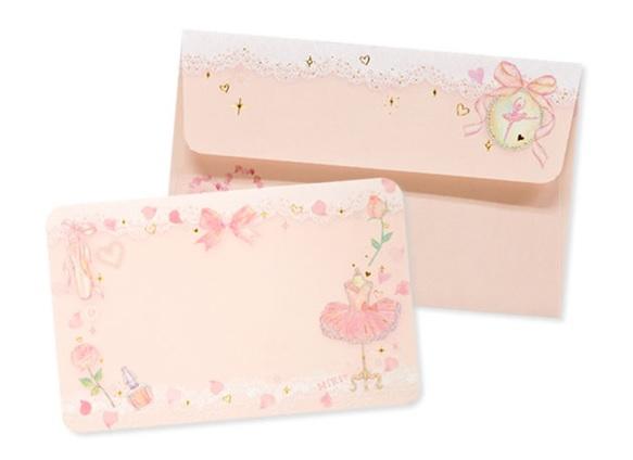 たけいみき メッセージカード&封筒