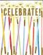 【輸入カード ミニカード】アメリカ Caspari製 定形外サイズ 封筒付き グリーティングカード Party Candle
