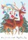 【クリスマスカード】オランダ製Quire(クワイヤー)グリーティングカード/ペア トナカイ