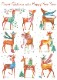 【クリスマスカード】オランダ製Quire(クワイヤー)グリーティングカード/ドレスアップディア