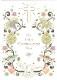 【洗礼 グリーティングカード】オランダ製Quire(クワイヤー)Mac Classic クリスチャン/洗礼式 葡萄 白鳩