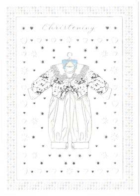 【洗礼 グリーティングカード】オランダ製Quire(クワイヤー)Mac Classic クリスチャン/Christening ベビー 洗礼式