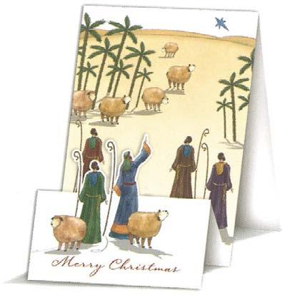 【クリスマスカード】オランダ製Quire(クワイヤー)グリーティングカード/羊飼い