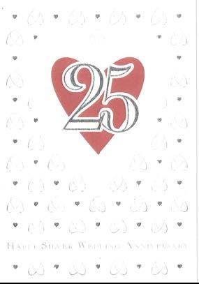 【お祝い 結婚25周年】オランダ製Quire(クワイヤー)グリーディングカード/Mac Classic(銀婚式)