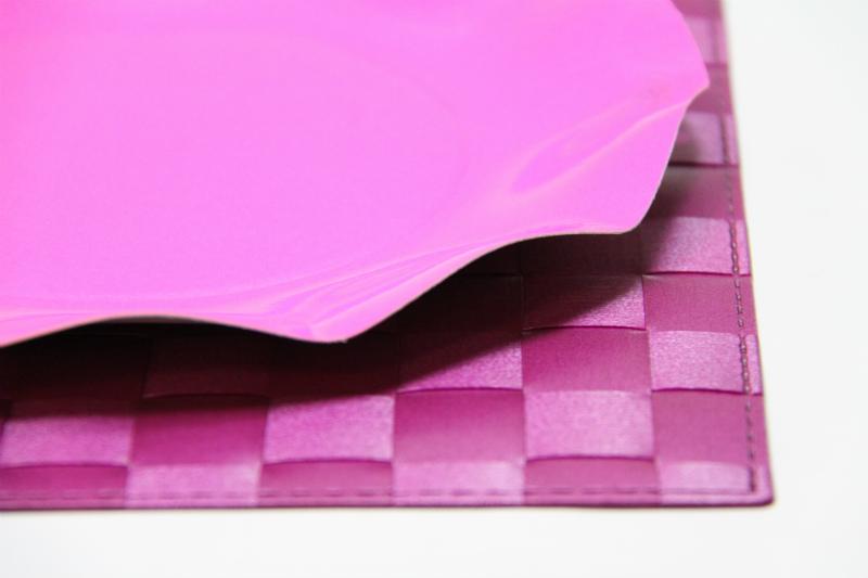 イタリア製 パーティー用 紙皿 ピンク Exclusive Trade/Pink プレート 20.5cm(10枚入り)