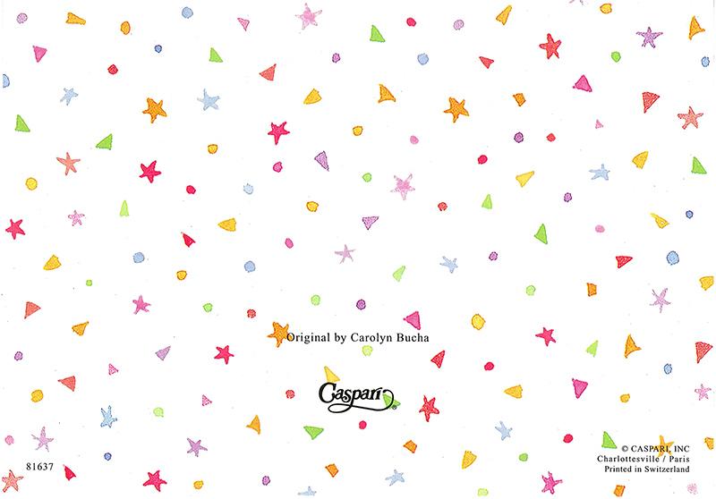 【サンキューカード カップケーキ】高品質 Caspari製 グリーディングカード/Cup Cakes