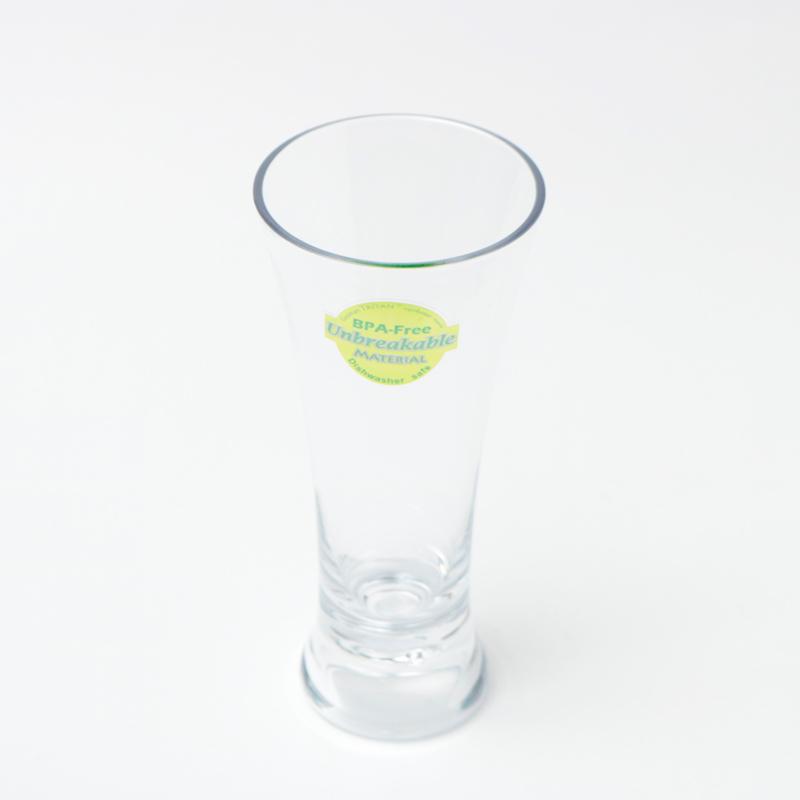 割れないグラス Tritan(トライタン)ピルスナー ビアグラス 360cc
