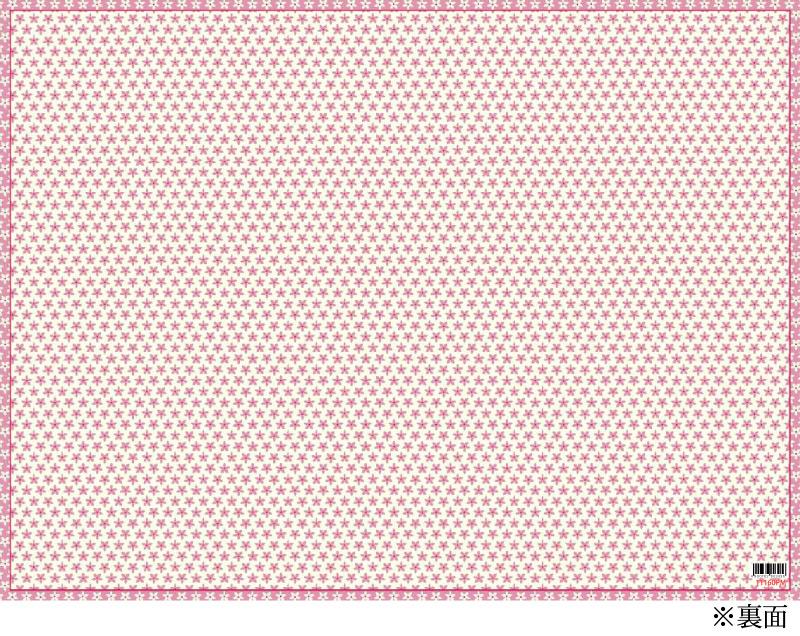 【リバーシブル 2枚入り キッズパーティー】かわいいバラ柄のCaspariペーパープレースマット(ランチョンマット)/Rosie【紙製 撥水 子供 パーティー】