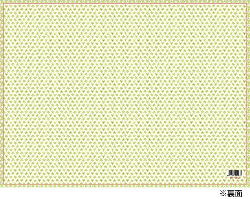 【リバーシブル 2枚入り キッズパーティー】かわいい動物柄のCaspariペーパープレースマット(ランチョンマット)/Calico Zoo【紙製 撥水 子供 パーティー】