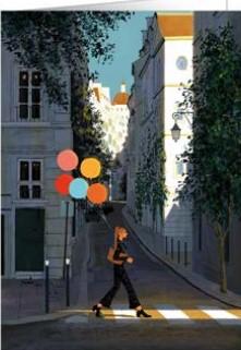 【多目的】 オランダ製 Quire(クワイヤー) グリーディングカード Mac Classic Heartfelt/バルーン散歩
