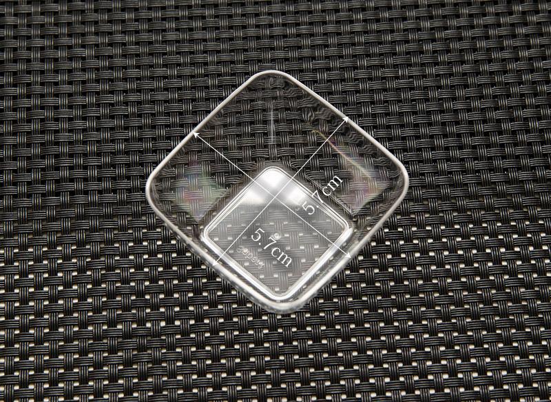 【プラスチックグラス プラスチックアミューズボウル パーティー食器】Mozaik Classic テイスティング グラス クリア 20個入り【使い捨て フィンガーフード ケータリング】