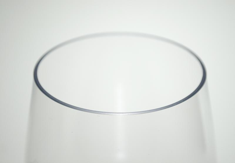 割れないグラス Tritan(トライタン)ステムレスグラス 450ml【白ワイン向け】