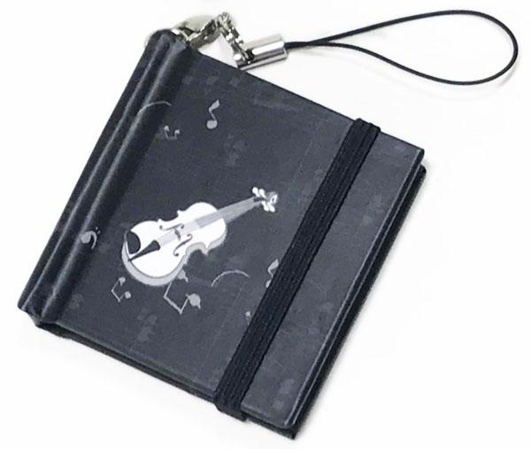 【メモ ノート 付箋 ミニサイズ プレゼント】Jiun Wey ミニスティッキーメモ/Violin【文房具 ステーショナリー】