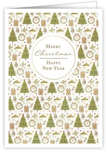 【クリスマスカード】オランダ製Quire(クワイヤー)グリーティングカード/ツリー