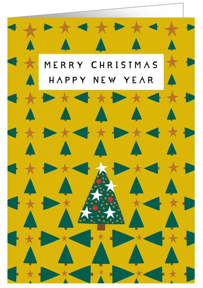 【クリスマスカード】オランダ製Quire(クワイヤー)グリーティングカード/クリスマスツリー