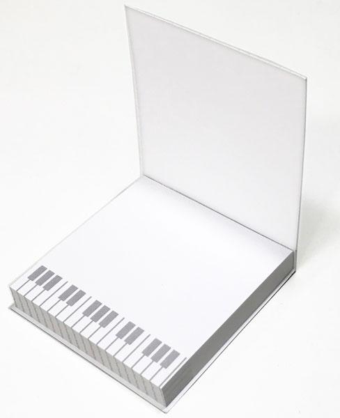 【メモ ノート 音楽 ピアノ ネコ プレゼント】Jiun Wey ミュージックミニメモパッド/Cat【文房具 ステーショナリー】