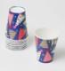 【キッズパーティ】Caspari かわいいペーパーカップ(紙コップ)8個入り 266ml/Party Hats
