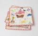 【キッズパーティ】Caspari かわいいペーパープレート(紙皿)8枚入り 20.3cm/Yo Ho Ho!
