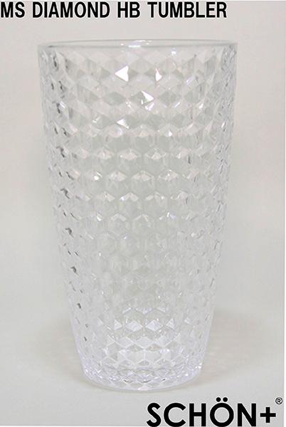 おしゃれで割れにくい ハイボール タンブラー560ml MS Diamond