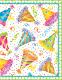 【輸入カード ミニカード】アメリカ Caspari製 定形外サイズ 封筒付き グリーティングカード ハッツオフ