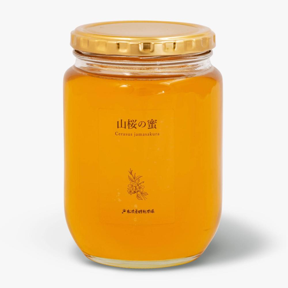 【2021年新蜜は完売しました】 会津産はちみつ 山桜の蜜 850g