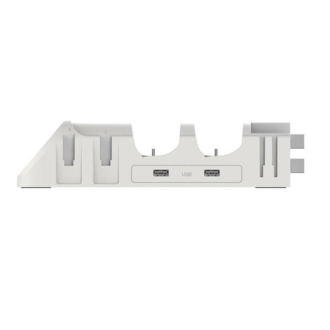 【 ニンテンドースイッチ 】 チャージングベース ドック 合体 充電 スタンド Proコントローラー LEDライト付き PG-9187