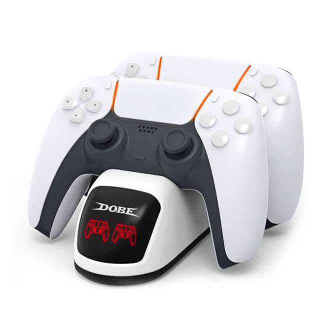 【PS5】チャージングドック0515 充電スタンド DualSense充電器 コントローラー充電器 TP5-0515