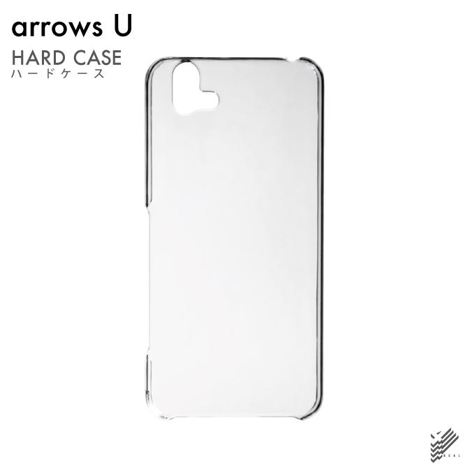 【即日出荷対応商品】 arrows U 801FJ/SoftBank用(クリア)