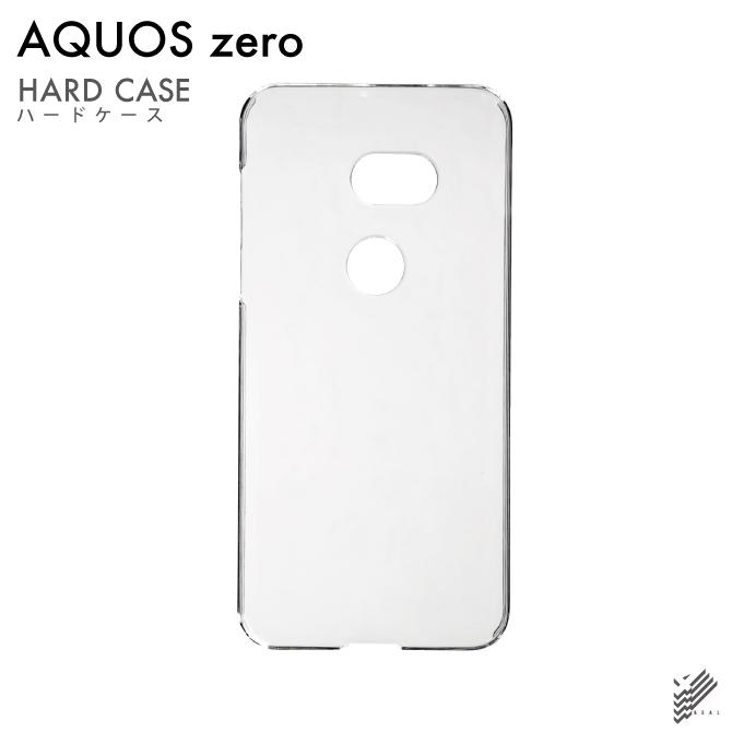 【即日出荷対応商品】 AQUOS zero 801SH / SoftBank用(クリア)