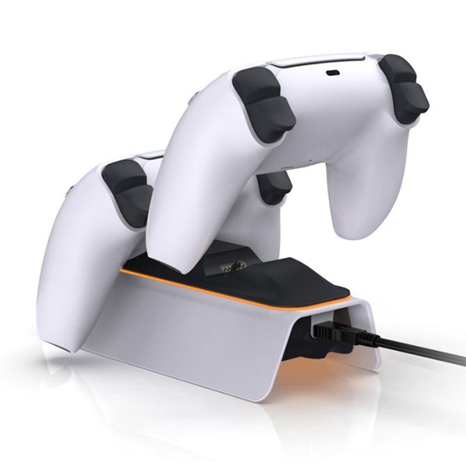 【PS5】チャージングドック0521B 充電スタンド DualSense充電器 コントローラー充電器 TP5-0521B