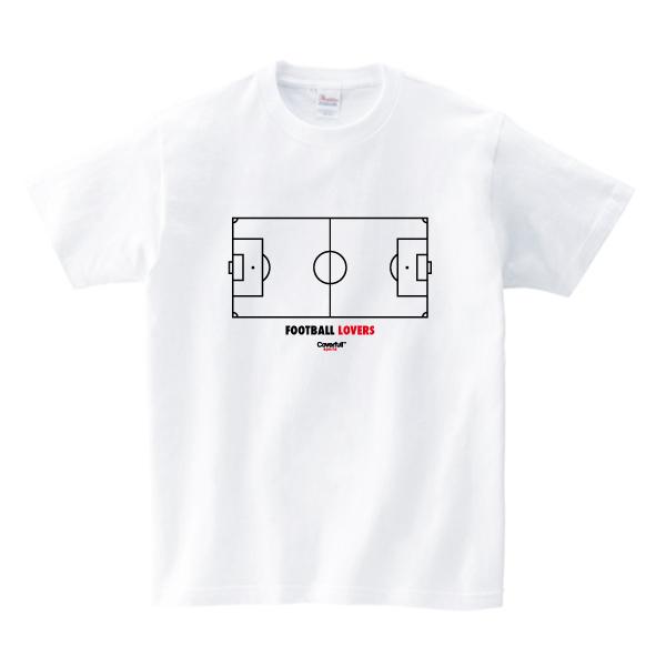 Tシャツ サッカーコート / Coverfull
