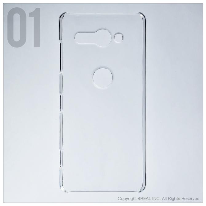 【即日出荷対応商品】 Xperia XZ2 Compact SO-05K/docomo用(クリア)