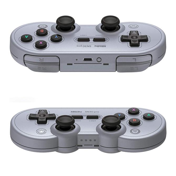 【 ニンテンドースイッチ 】SN30 Proゲームパッド コントローラー ワイヤレス レトロ アナログスティック 8Bitdo SN30 Pro