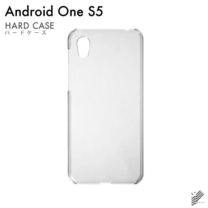 【即日出荷対応商品】 Android One S5 (Y!mobile / SoftBank)用(クリア)