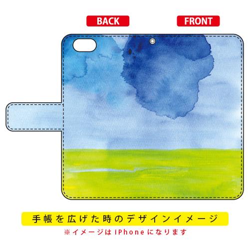 手帳型ケース kanoco「溶ける月」 / SECOND SKIN