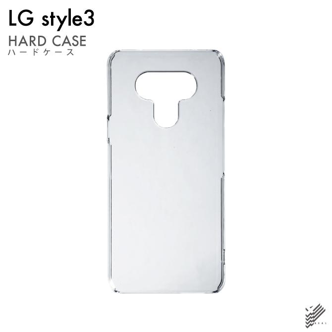 【即日出荷対応商品】 LG style3 L-41A/docomo用(クリア)