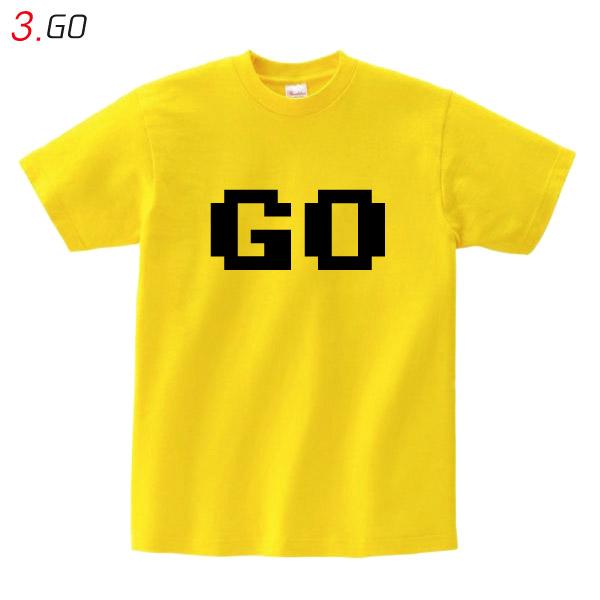 GO Tシャツ イエロー 【全4サイズ】