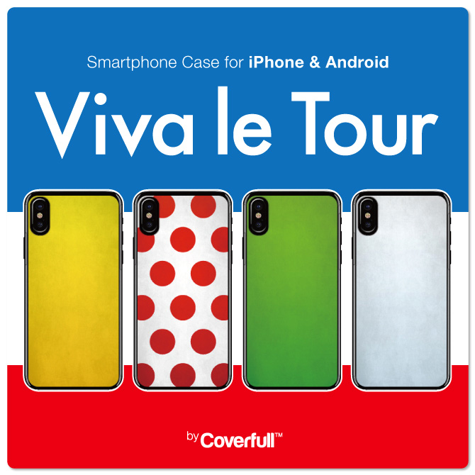 Viva le Tour for iPhone ( ハードケース ) / Cf LTD