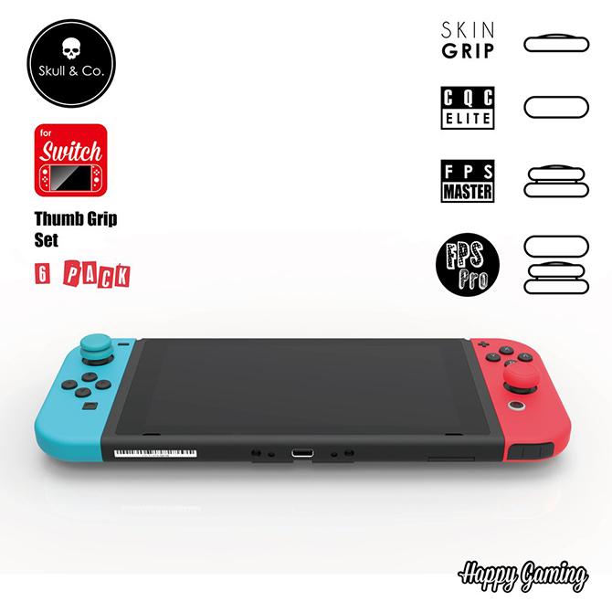 【ニンテンドー スイッチ】ブリップキャップセット Joy-Con ジョイコン スティックカバー ボタンキャップ 感度アップ