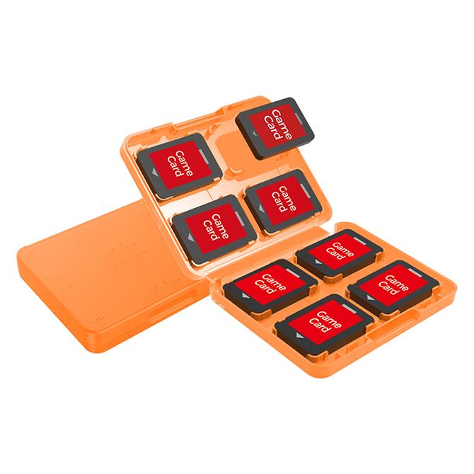【 ニンテンドースイッチ 】 8枚収納ゲームカードストレージ ソフト入れ カード 保管 保存 軽量 薄型 TNS-19303
