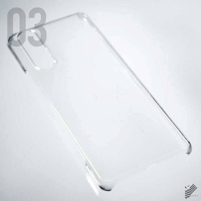 【即日出荷対応商品】 Xperia 5 II (SOG02 au, A002SO SoftBank)用(クリア)
