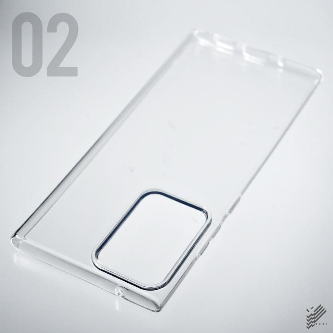 【即日出荷対応商品】 Galaxy Note20 Ultra 5G SCG06用(ソフトTPUクリア)
