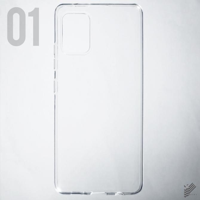 【即日出荷対応商品】 Galaxy A51 5G SCG07用(ソフトTPUクリア)