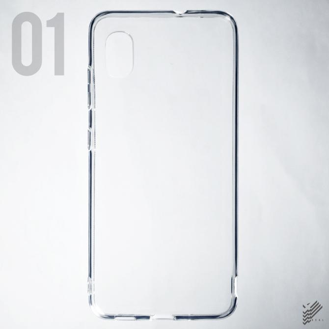 【即日出荷対応商品】 Galaxy A21 SC-42A / au用(ソフトTPUクリア)