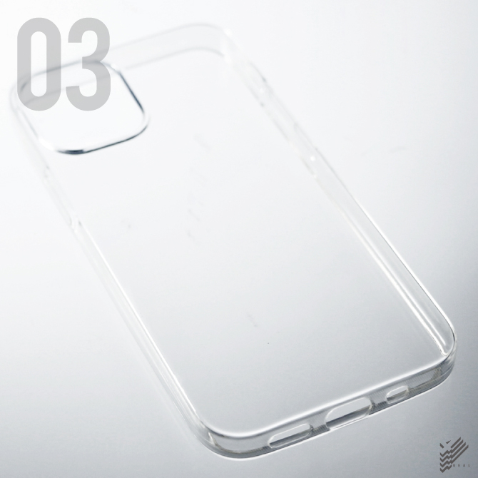 【即日出荷対応商品】iPhone 12 mini/Apple用(ソフトTPUクリア)