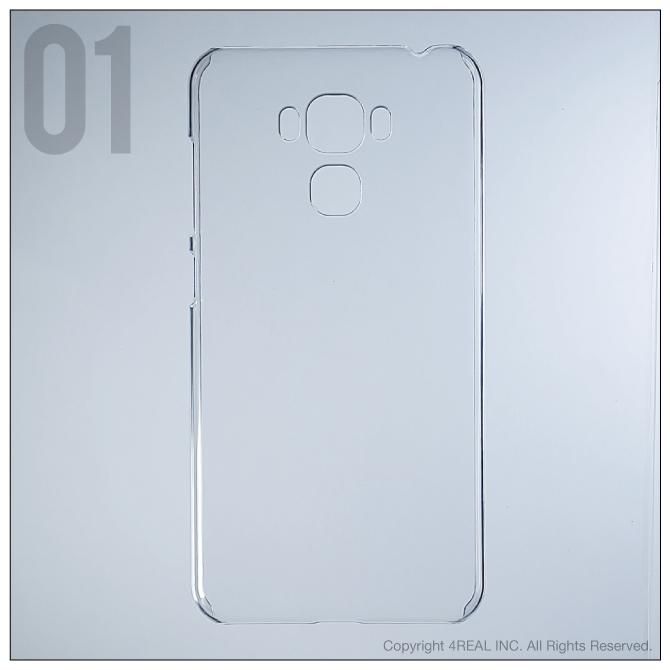 【即日出荷対応商品】 ZenFone 3 Max (5.5インチ) ZC553KL/MVNOスマホ(SIMフリー端末)用(クリア)