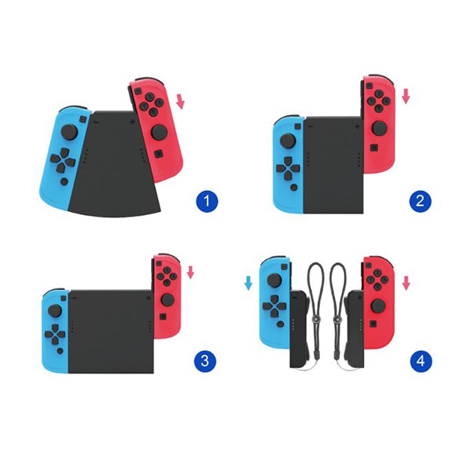 【ニンテンドー スイッチ】ジョイコンコネクターパック 4つの持ち方で遊べる Joy-Con TNS-19021