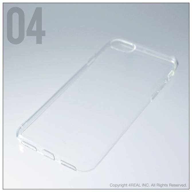 【即日出荷対応商品】 iPhone 7・iPhone 8/Apple用(ソフトTPUクリア)