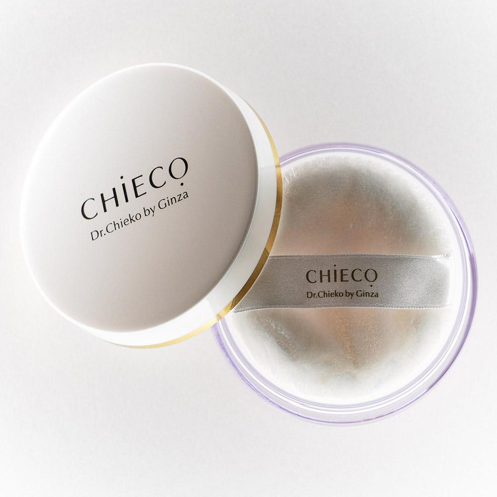 【新商品】CHIECO フェイスパウダーC / 真珠パウダー、バラプラセンタ配合